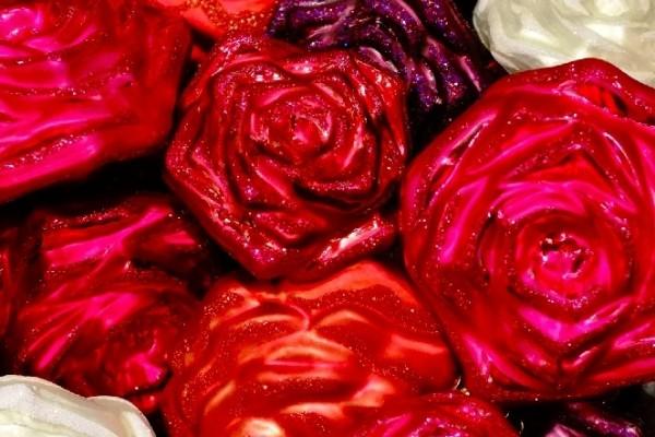 Rosen Weihnachten Schmuck