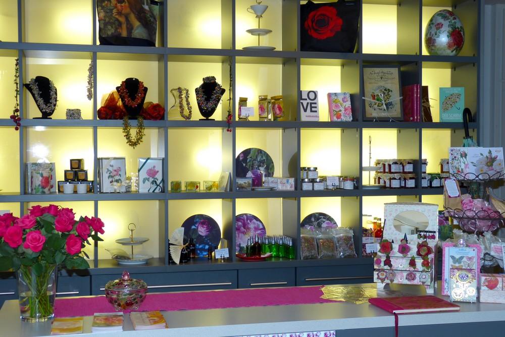 Rosenmuseum Shop