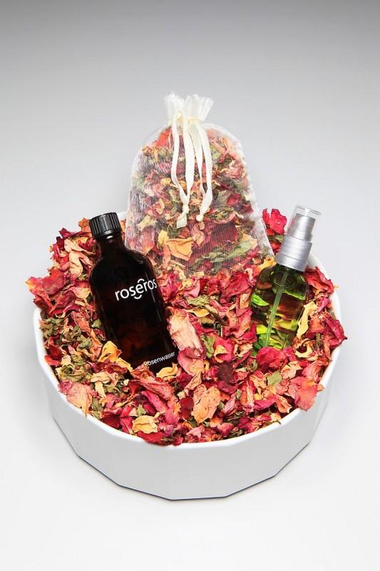 Potpourri, erhältlich im Rosenmuseum Steinfurth
