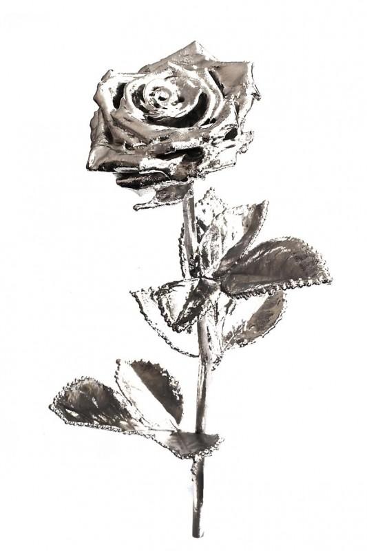 rose silberne rose 30 cm rosenmuseum. Black Bedroom Furniture Sets. Home Design Ideas